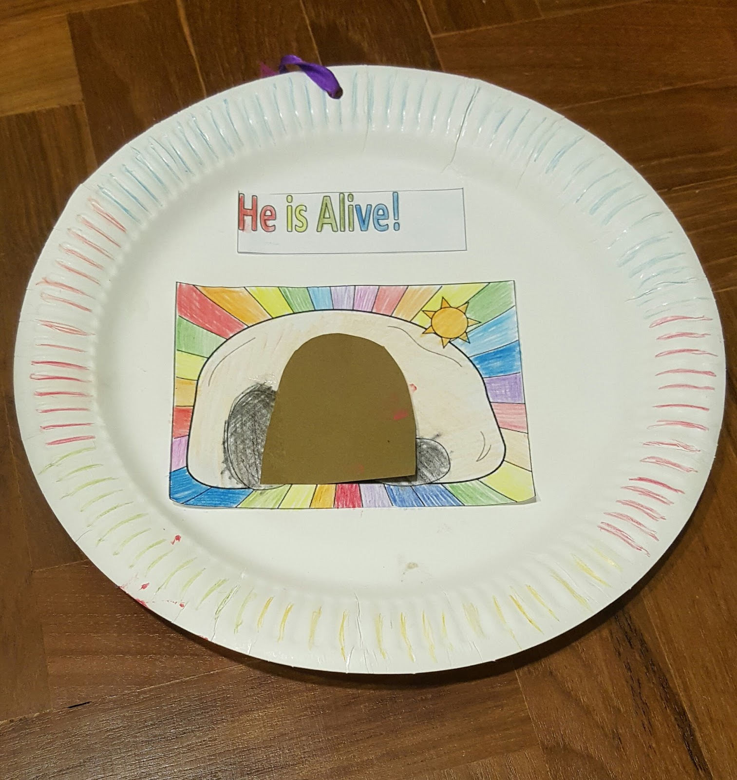 Blessed Family: Easter Craft