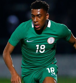 alex iwobi fine partying night club defeat