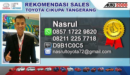 Rekomendasi Sales Dealer Toyota Pasar Kemis Tangerang