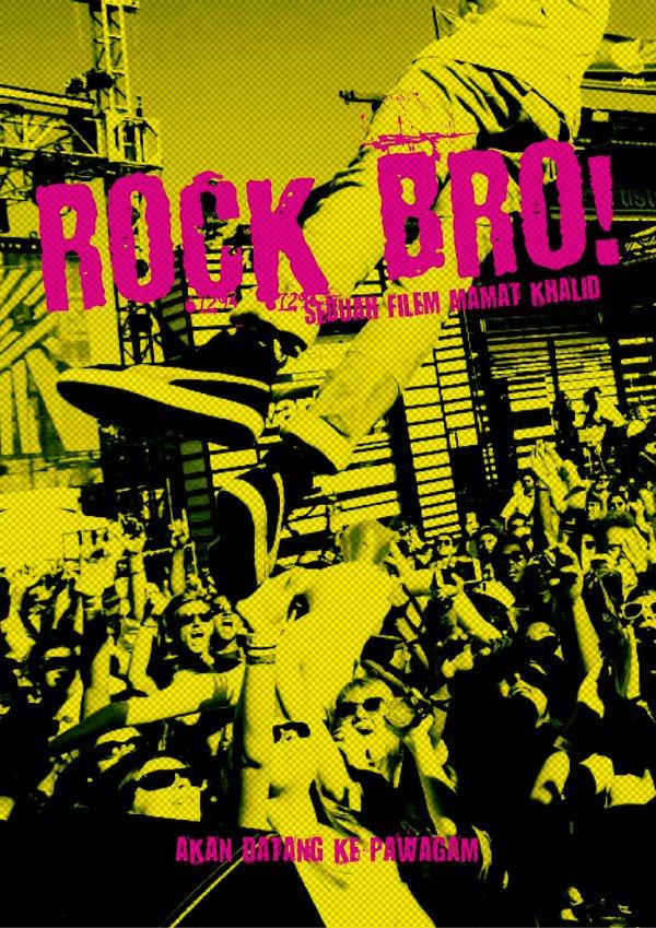 Sinopsis Filem Rock Bro Karya Mamat Khalid