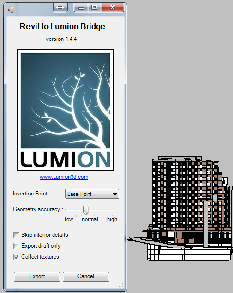 What Revit Wants: Using Lumion 5 3 with Revit for Rapid