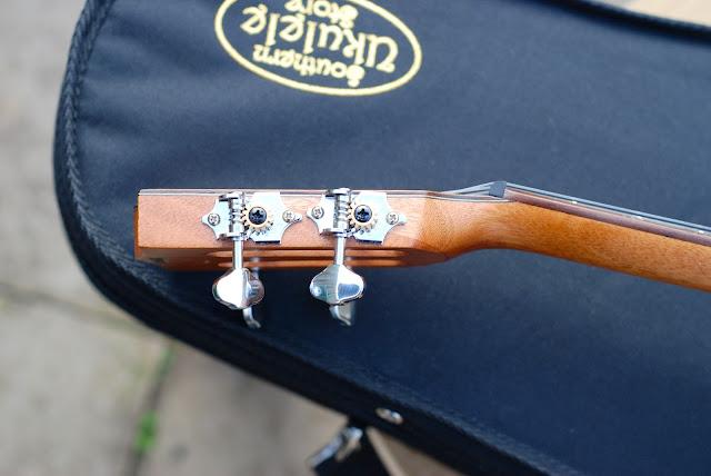 Kala All Solid Acacia Tenor ukulele Grover tuners