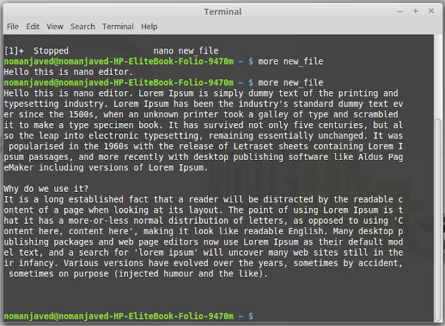 Linux Basics Commands
