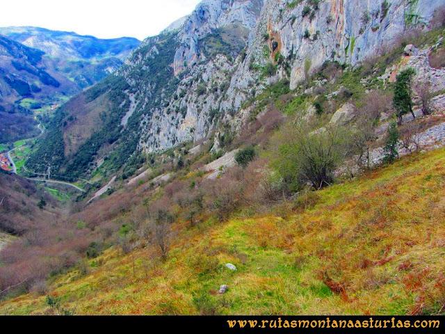 Ruta al Pico Gorrión: Camino a Cueva Furada