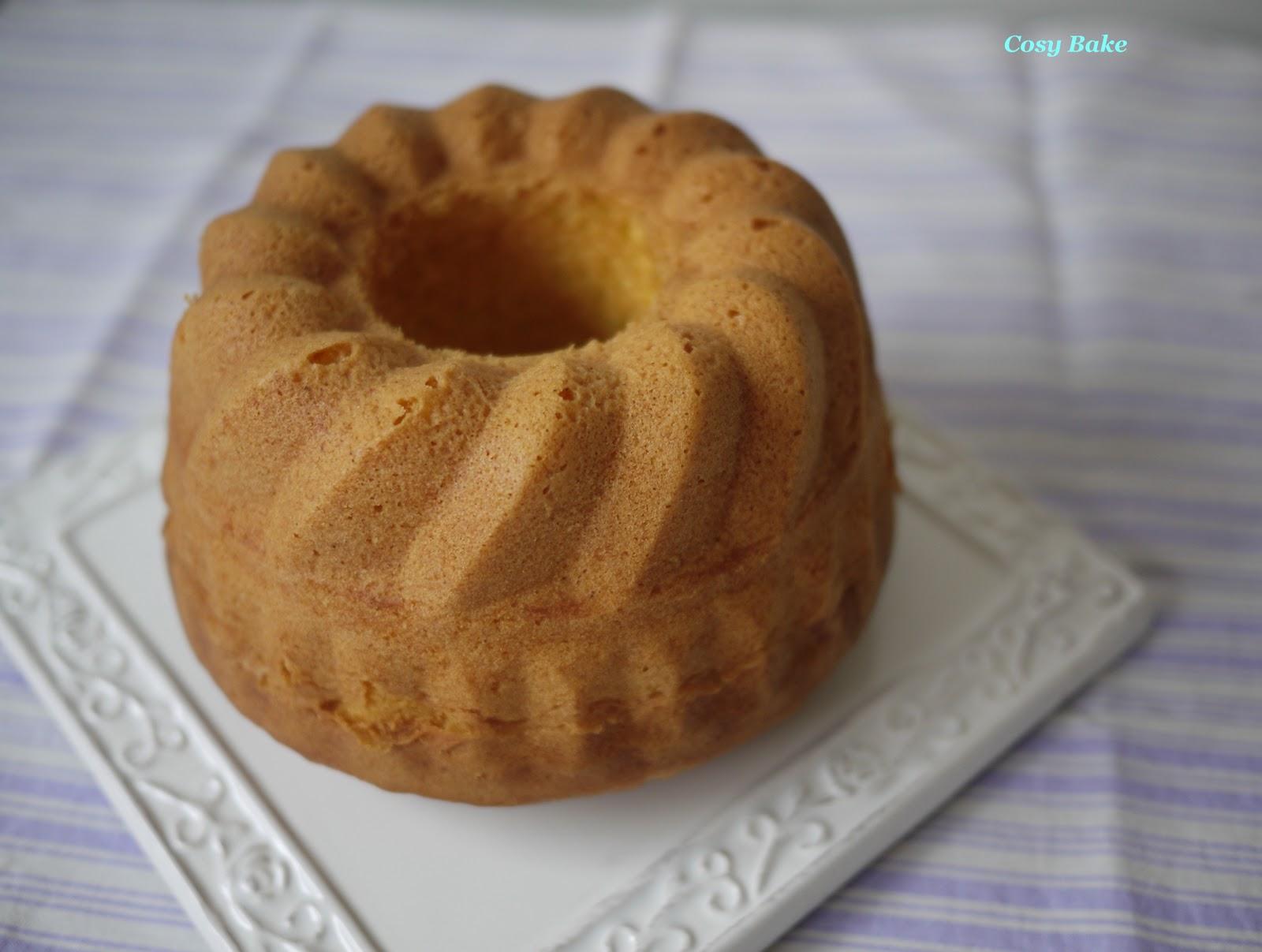 Old Fashioned Pound Cake With Chocolate Glaze