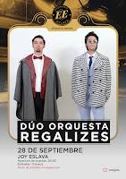 Concierto de Dúo Orquesta Regalizes en Escenario Eslava
