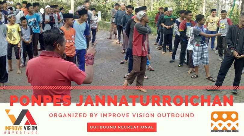 outbound recreational ponpes jannaturroichan wisata outbound pacet improve vision