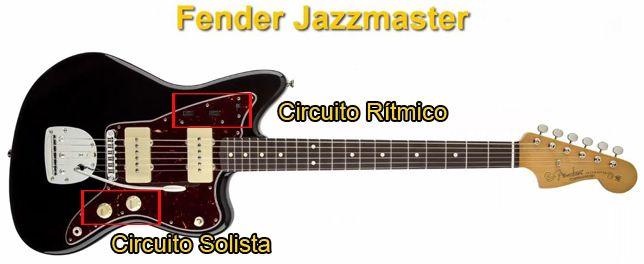 Características de la Guitarra Eléctrica Fender Jazzmaster