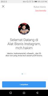 Membuat Akun Bisnis Instagram 2