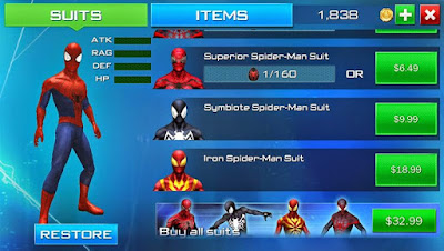 The Amazing Spiderman Apk Screenshot