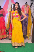 Pujitha in Yellow Ethnic Salawr Suit Stunning Beauty Darshakudu Movie actress Pujitha at a saree store Launch ~ Celebrities Galleries 034.jpg