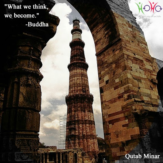qutab minar - quote
