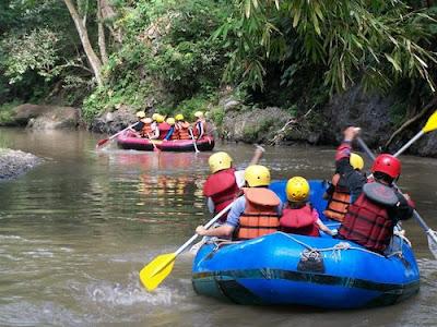 Kaliwatu Rafting Malang