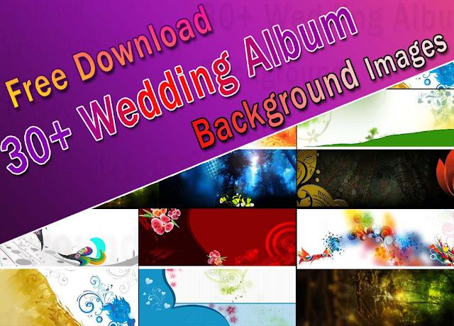 30+ Wedding Album Background