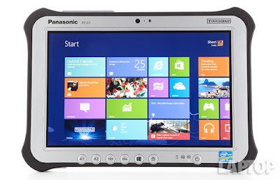 setelah libur lebaran ini, Panasonic Luncurkan Tablet Toughpad