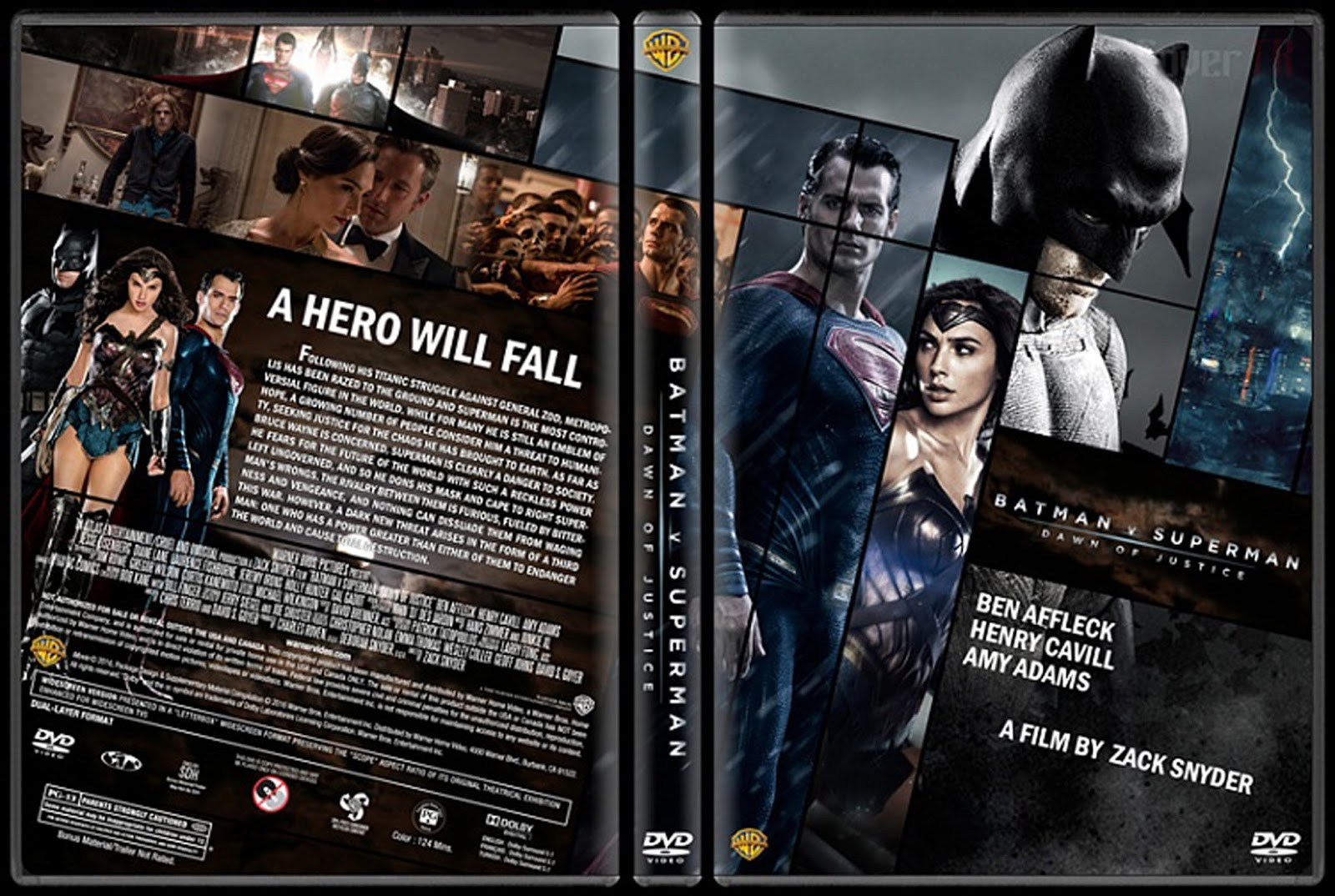 [Torrent] Batman v Superman: Dawn of Justice – Extended Ultimate Edition 720p (2016)