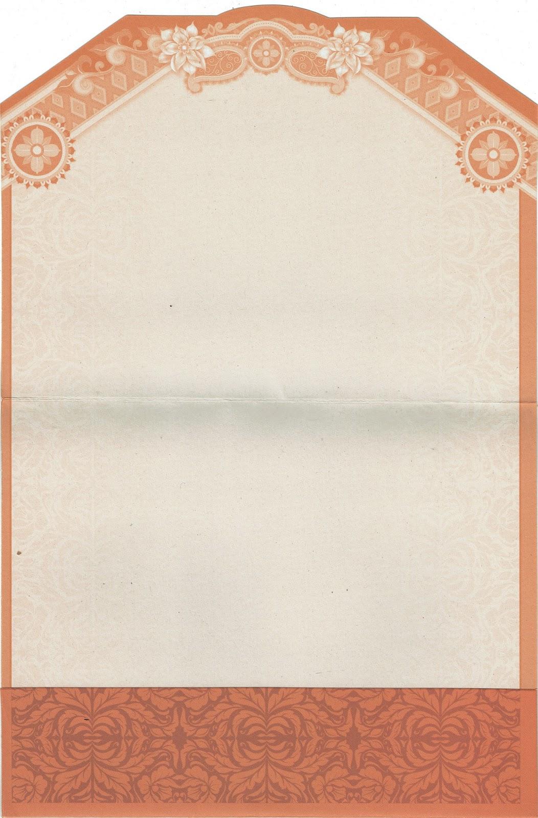 Undangan Softcover Rain Card RC-22