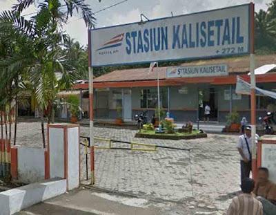 Gambar Stasiun Kalisetail