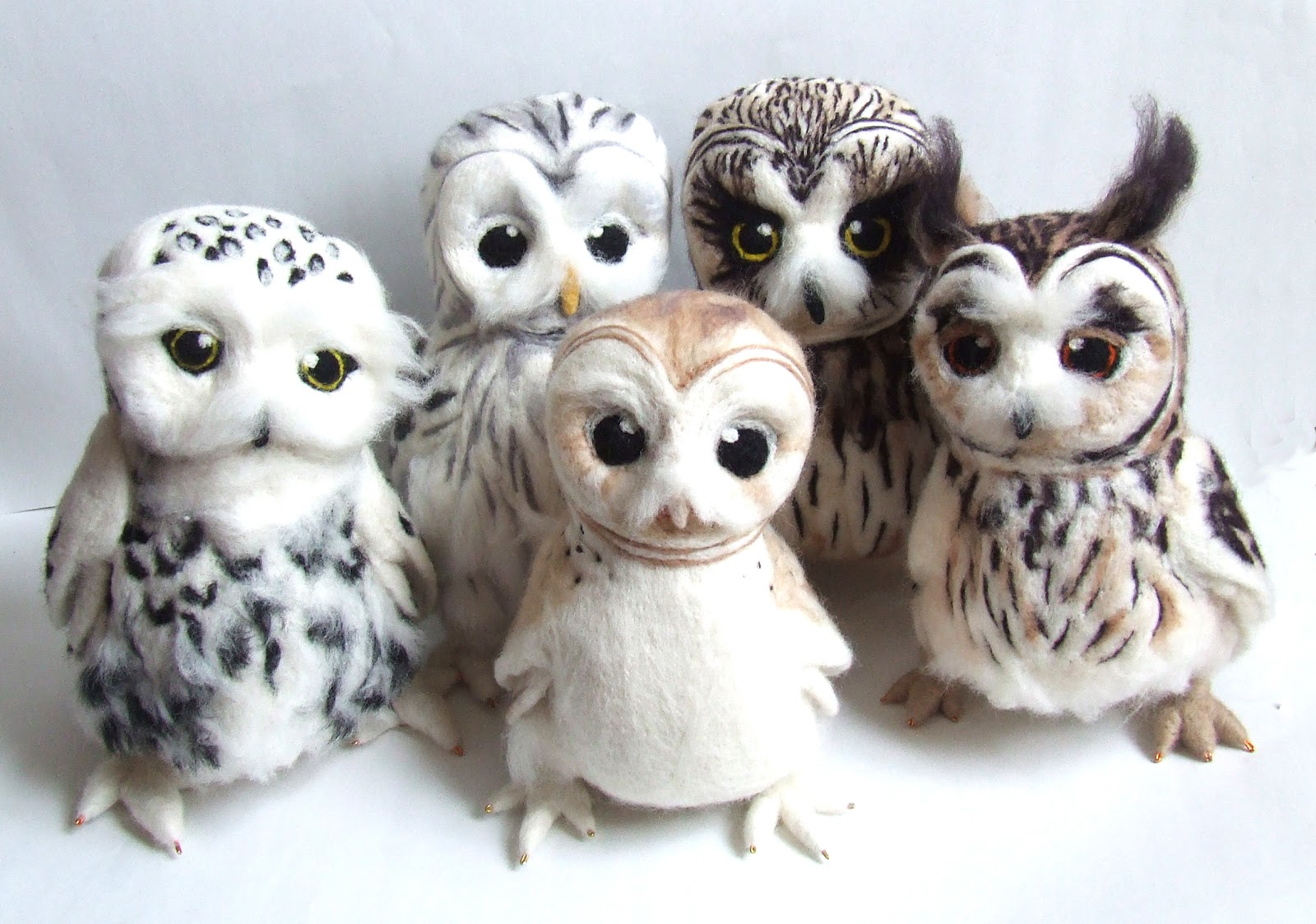 Feltmeup Designs: Bye Bye Big Owls