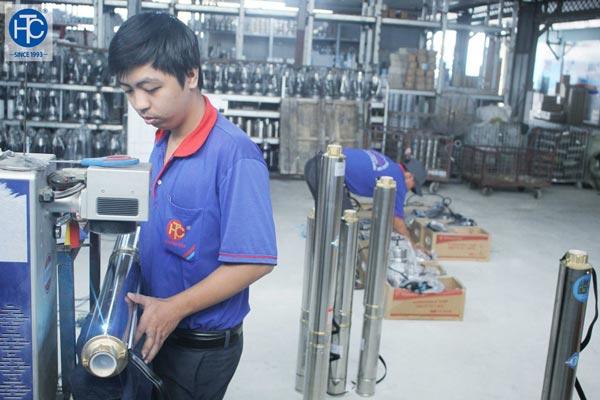 Đặc tính của máy bơm nước do THC Việt Nam Group cung cấp