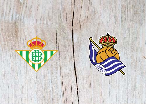 Real Betis vs Real Sociedad - Highlights 02 December 2018