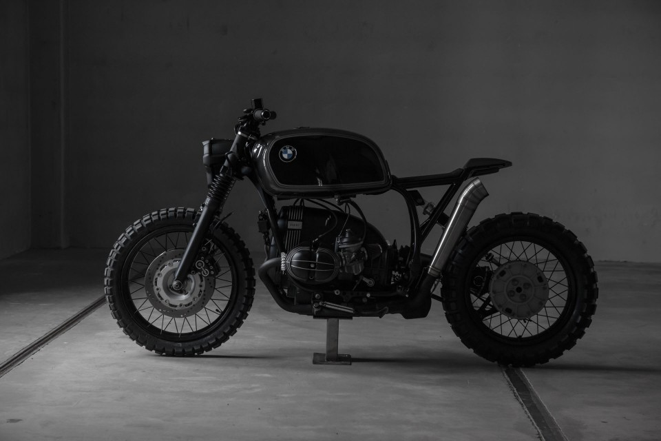 Vegabund Moto's Customized BMW R100R 1993