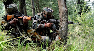 Encounter breaks out between terrorists, security forces in Pulwana district