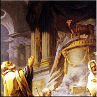 Соломон се отдава на идолопоклонство
