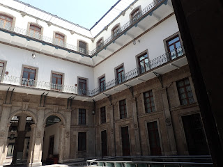 Mexico City National Palace Courtyard