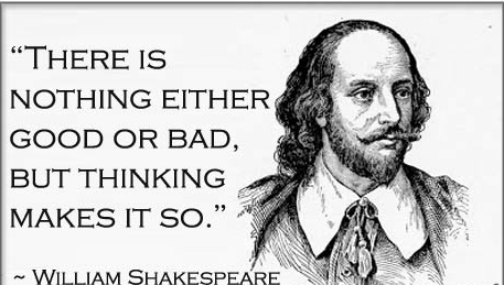 William Shakespeare thinking