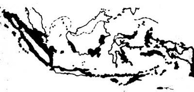 Gambar  Peta daerah yang dipengaruhi Islam abad 16