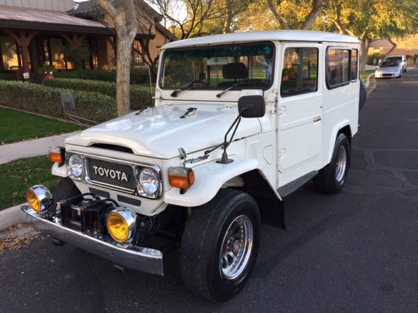 1984 Toyota Land Cruiser BJ46