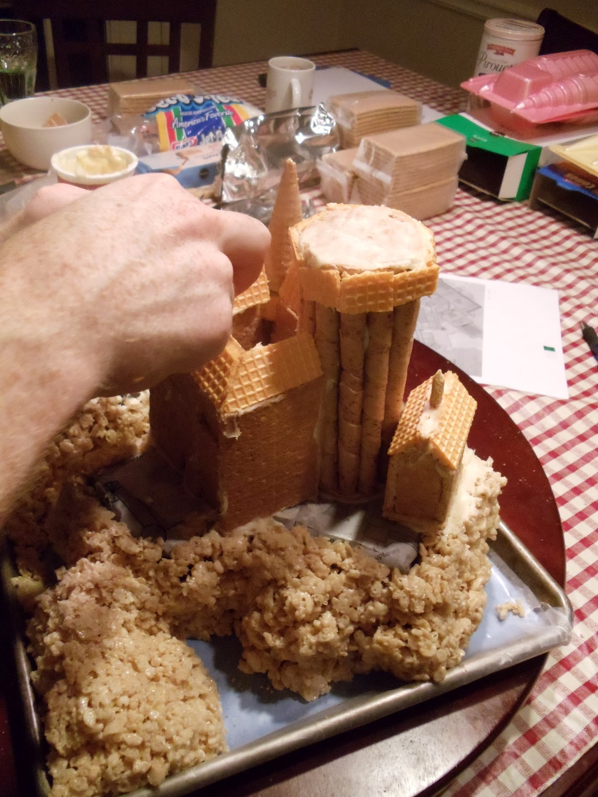 Artspace Food Art Hogwarts Castle
