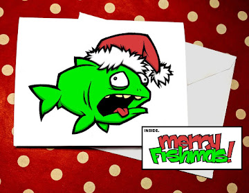 MERRY FISHMAS Holiday Cards!