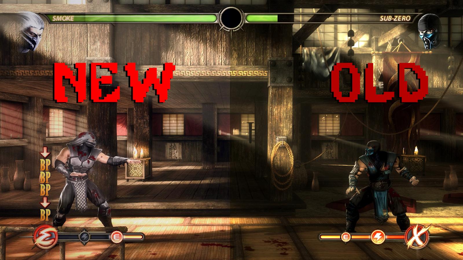 Mortal Kombat 9 Komplete Edition Lightning Graphics Mod