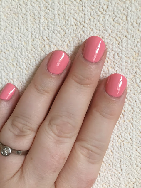 NOTD - Maybelline Superstay 7 Days Gel Polish in Rose Rapture