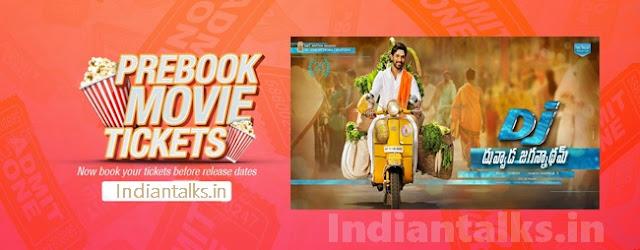 DJ-Duvvada Jagannadham Tickets Online
