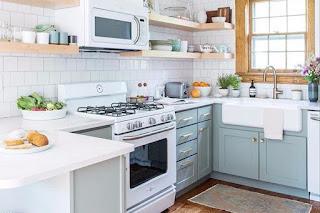 36 Desain Dapur Minimalis Dengan Kursi Bar