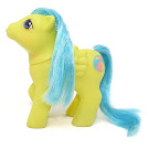 MLP Baby Bouncy Year Five First Tooth Baby Ponies G1 Pony