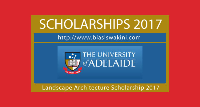Oxigen Masters Of Landscape Architecture Scholarship 2017