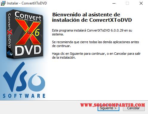 VSO ConvertXtoDVD