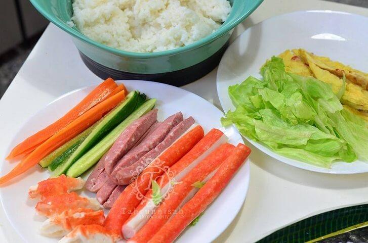 Bahan-bahan sushi 1