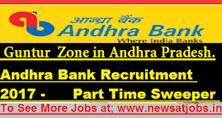Andhra-Bank-Recruitment-guntur-13-Sweeper-Vacancy