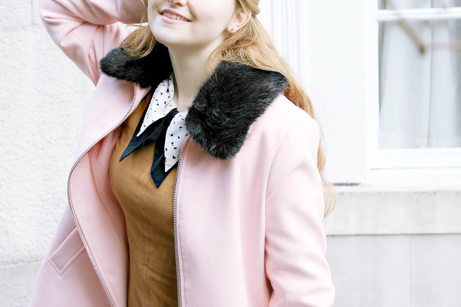 Pink swing coat and perfect winter coat ideas