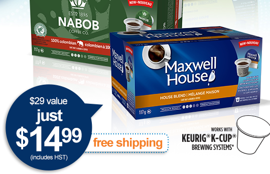 Samples Of Maxwell House And Nabob Coffee Cups