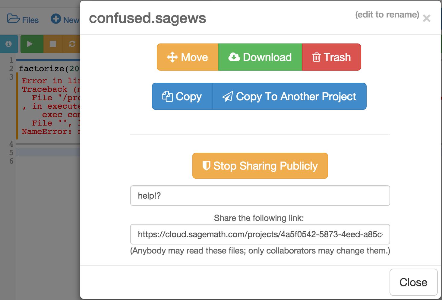 Sage Open Source Mathematics Software
