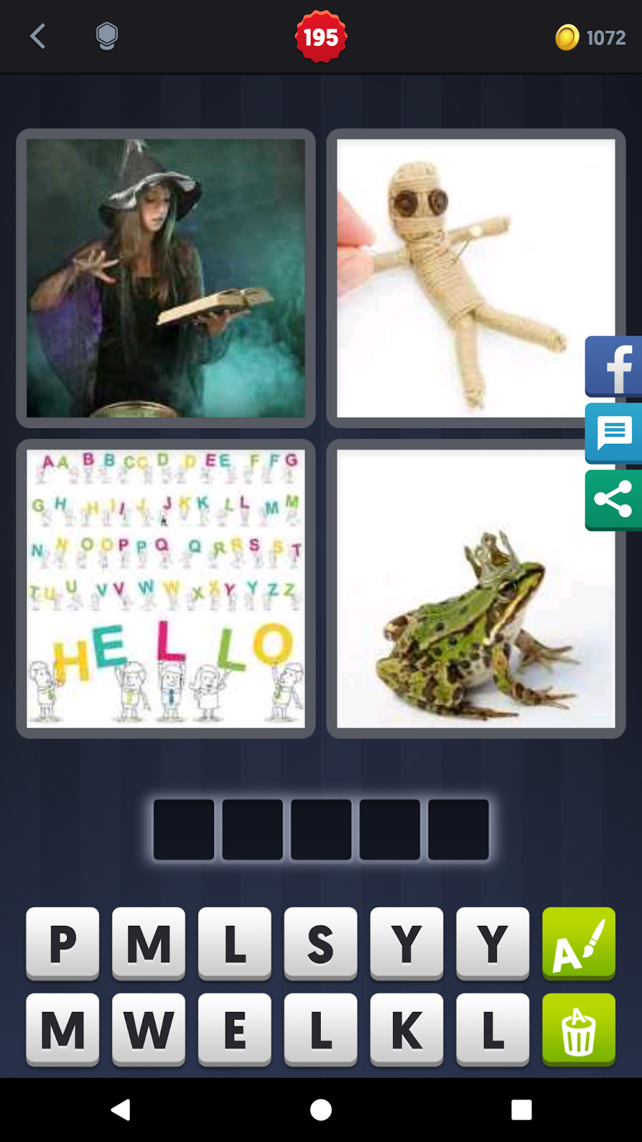 4 Pics 1 Word Answers Solutions Level 196 Spell