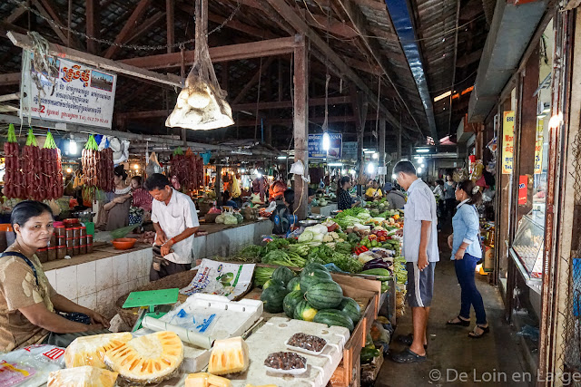 Marché - Siem Reap - Cambodge