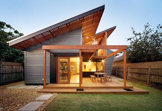 model atap rumah miring ke samping