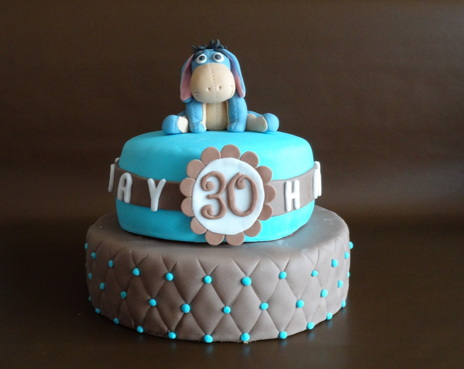 Torten  Cupcakes by Sibl 2stckige Geburtstagstorte